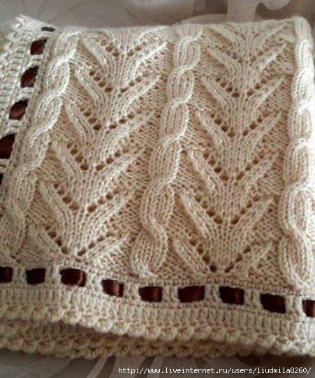 manta linda | Knitting ideas | Pinterest | Mantas para bebes, Cobija ...