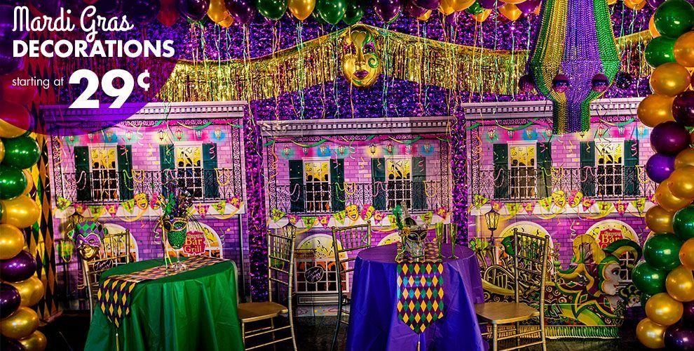 Mardi Gras Decorations #1   MASQUERADE Party ideas ...