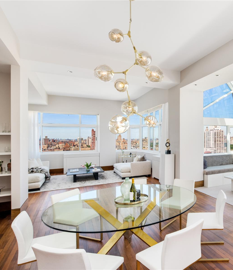 Interior marketing group the copley penthouse nyc