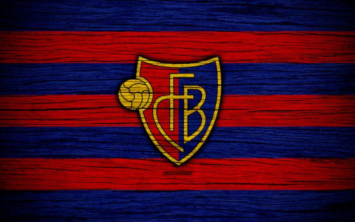 футбол 1 Wallpaper: Download Wallpapers Basel, 4k, Wooden Texture, Switzerland