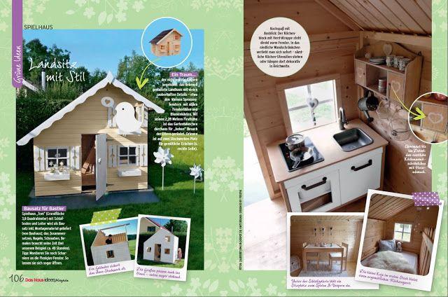 Kinderspielhaus   Das Haus Ideenmagazin