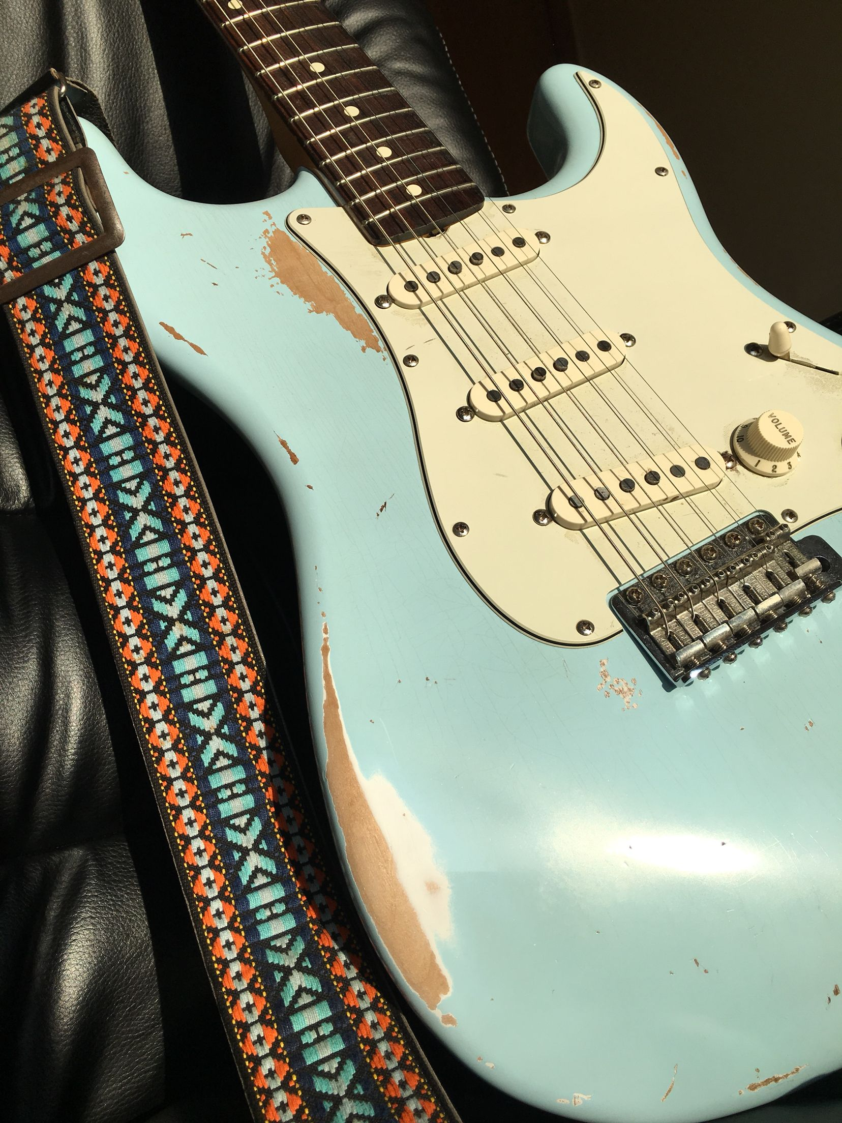 Generous Ibanez Rg Wiring Thin Ibanez Wiring Square Dimarzio Switch Security Diagram Young One Humbucker One Volume BrownSolar Panel Wiring TRS. 1962 Fender Sonic Blue Strat. Stratocaster. Vintage. Guitar ..