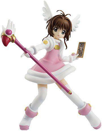 "Amazon.com: Furyu 6.7"" Cardcaptor Sakura: Sakura Kinomoto Special Figure Series ""Cheerful Pink"": Toys & Games"