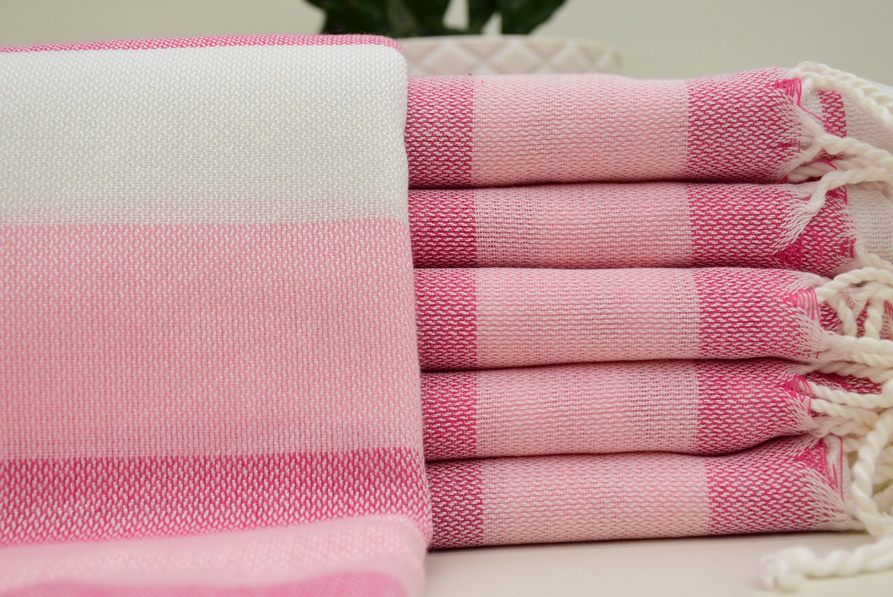 Fuschia Towel Peshtemal Towel Turkish Towel Beach Towel 40x70