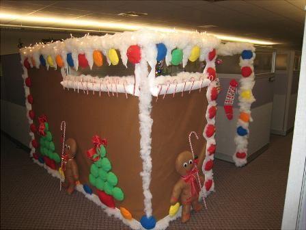 gingerbread christmas cubicle softball, cosplay,anime, etc