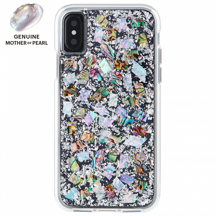 Iphone X Mother Of Pearl Karat Case Back Iphone Cases Pearls Iphone 8 Cases