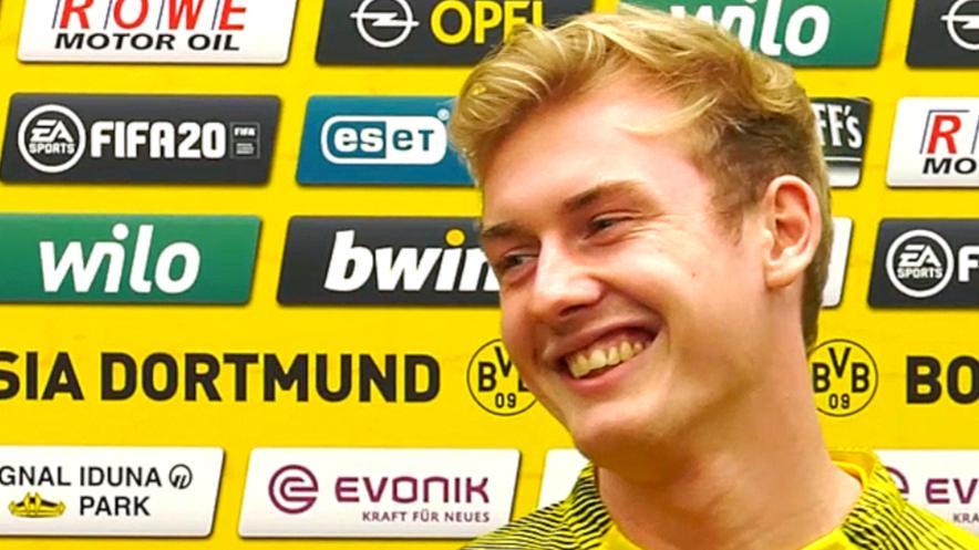 Halt Die Schnauze Brandt Ruffelt Reus Auf Bvb Pressekonferenz Sport Videos Bvb Liverpool