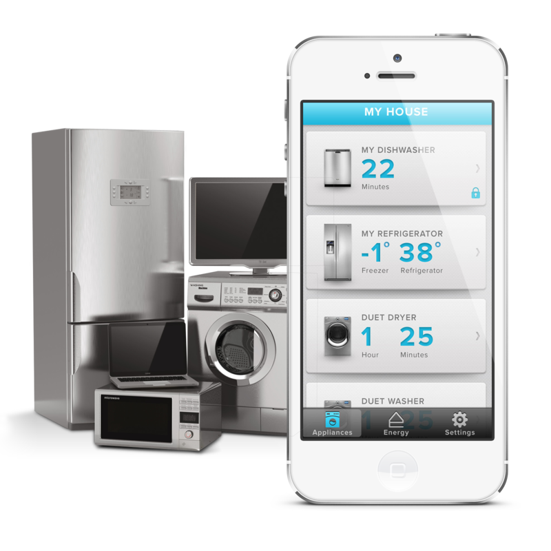 whirlpool smart appliances with a smart home app ux in va thesis pinterest. Black Bedroom Furniture Sets. Home Design Ideas