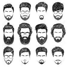 Resultado De Imagen Para Como Dibujar Cabello De Hombre Dibujar Pelo Barba Dibujo Estilos De Cabello Y Barba