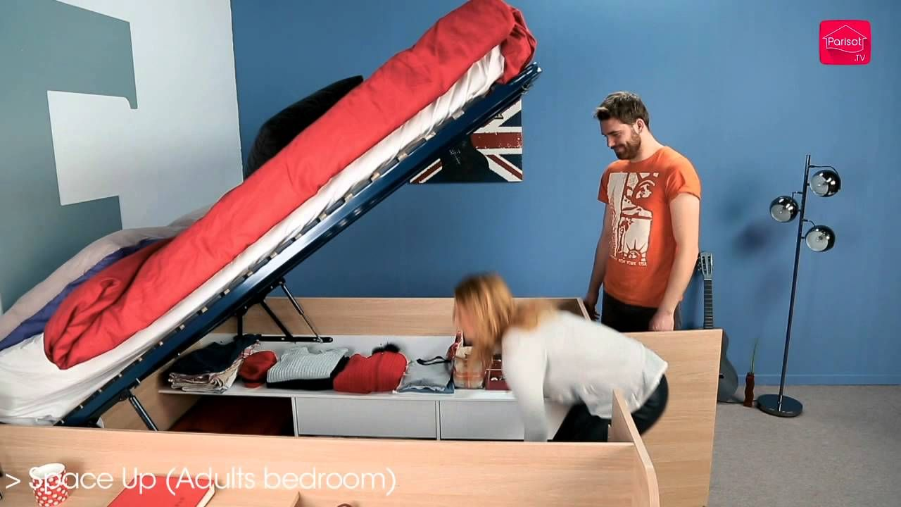 Parisot Space Up Double Storage Bed Wish It Was Available In The
