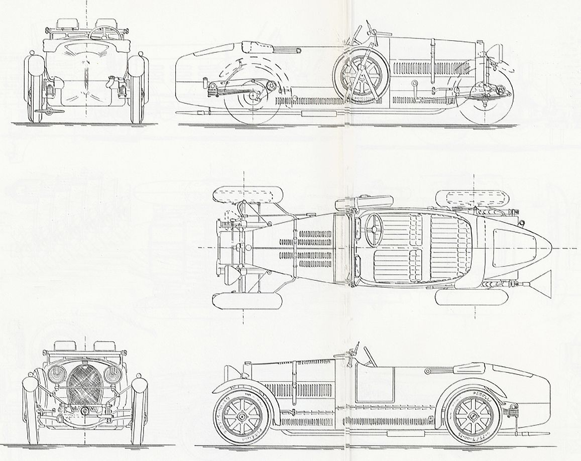 Bugatti 43 Grand Sport (1927) | SMCars.Net - Car Blueprints Forum ...