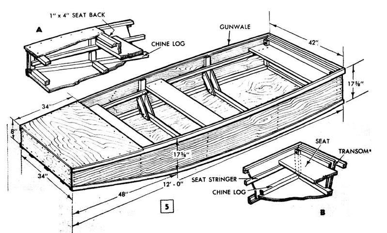 Wooden Jon Boat Plans