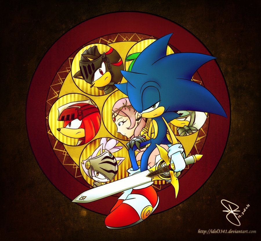 Knight Of The Wind Sonic Art Sonic Sonic The Hedgehog