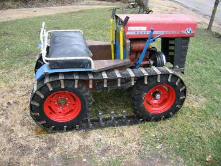 Small Homemade Tractors : Tracked tractor i want to build one tractors pinterest