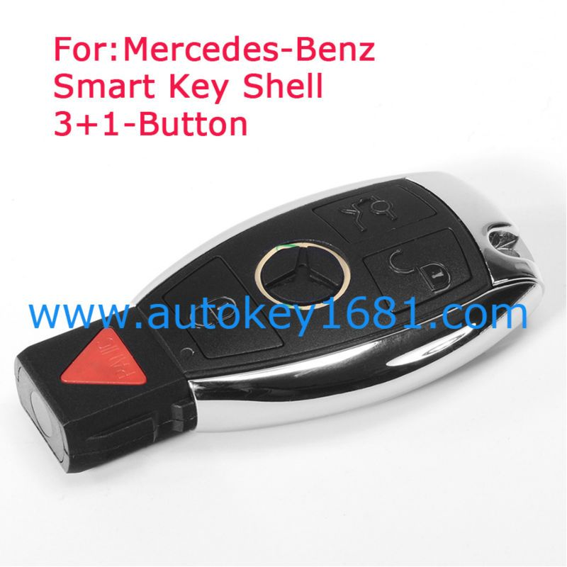 New Updating Remote Key Shell Case Fob 3+1 Button for 2010