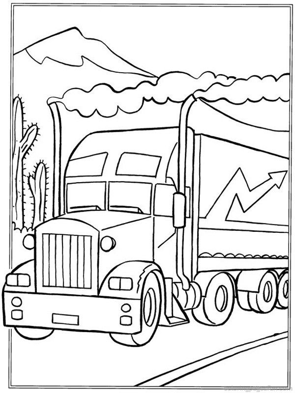 Truck Coloring Pages 22 Art Coloring Pages Truck Coloring Pages