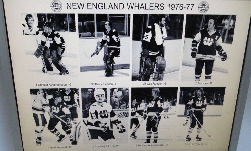 New England Whalers 197677 WHA 5 photos 8x10 (33 players