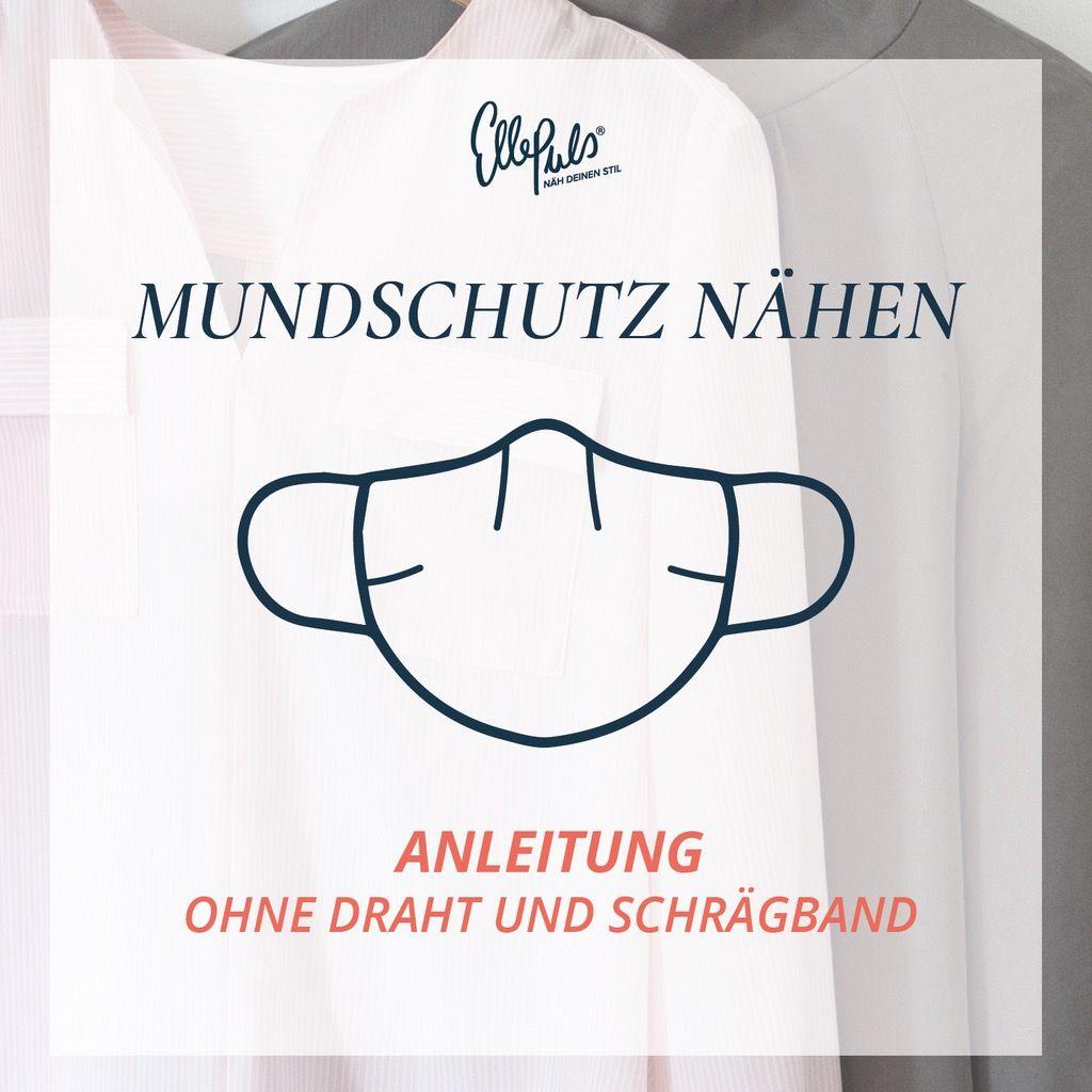 Photo of Mundschutz nähen ohne Draht und Schrägband gratis