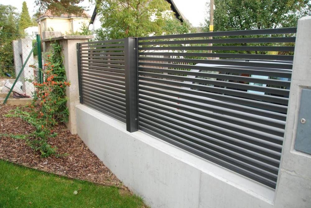 Designzaun Magnus - super-zaunde Gartenzaun Pinterest - gartenzaun modern metall