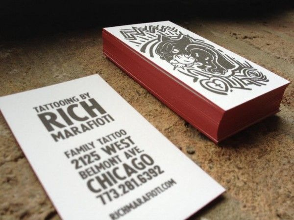 37 Edge Painted Business Cards Design Motivation | Orphicpixel