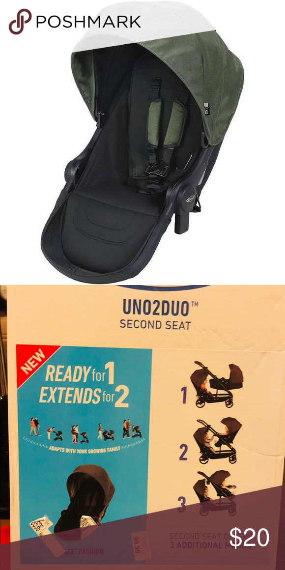 BRAND NEW IN BOX Graco Uno2Duo Stroller Second Seat Ace,