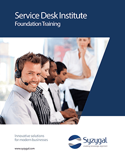 Service Desk Foundation Training And Courseware Foundation Training Foundation Desk