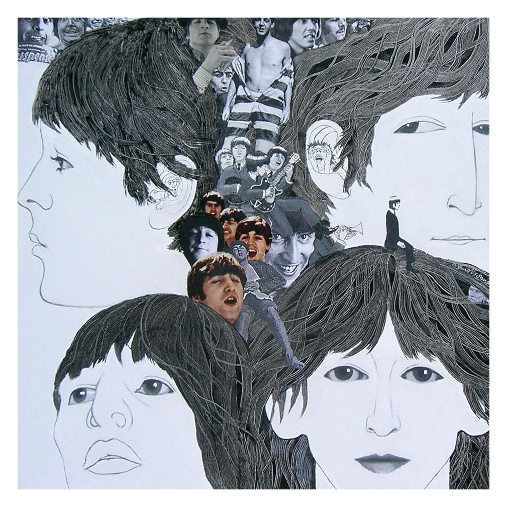 The Beatles Artwork Paul McCartney John Lennon Ringo Starr George Harrison Album 1966 Klaus Voormann Revolver