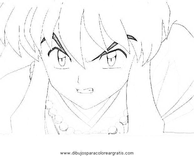 Kết quả hình ảnh cho imagenes de inuyasha para dibujar | Inuyasha ...