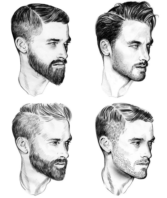 hair how to style facial