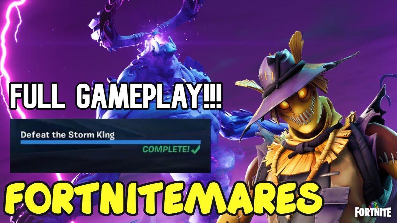 Defeat the Storm King Full Gameplay Walkthrough