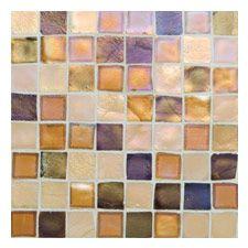 Oceanside Gl Tile Tessera Collection 1 X Mosaic Gold Coast Sample