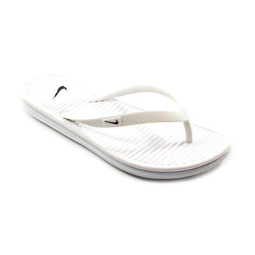 d466c30d8509 Nike Women s Solarsoft Thong II Black Grey 488161-090