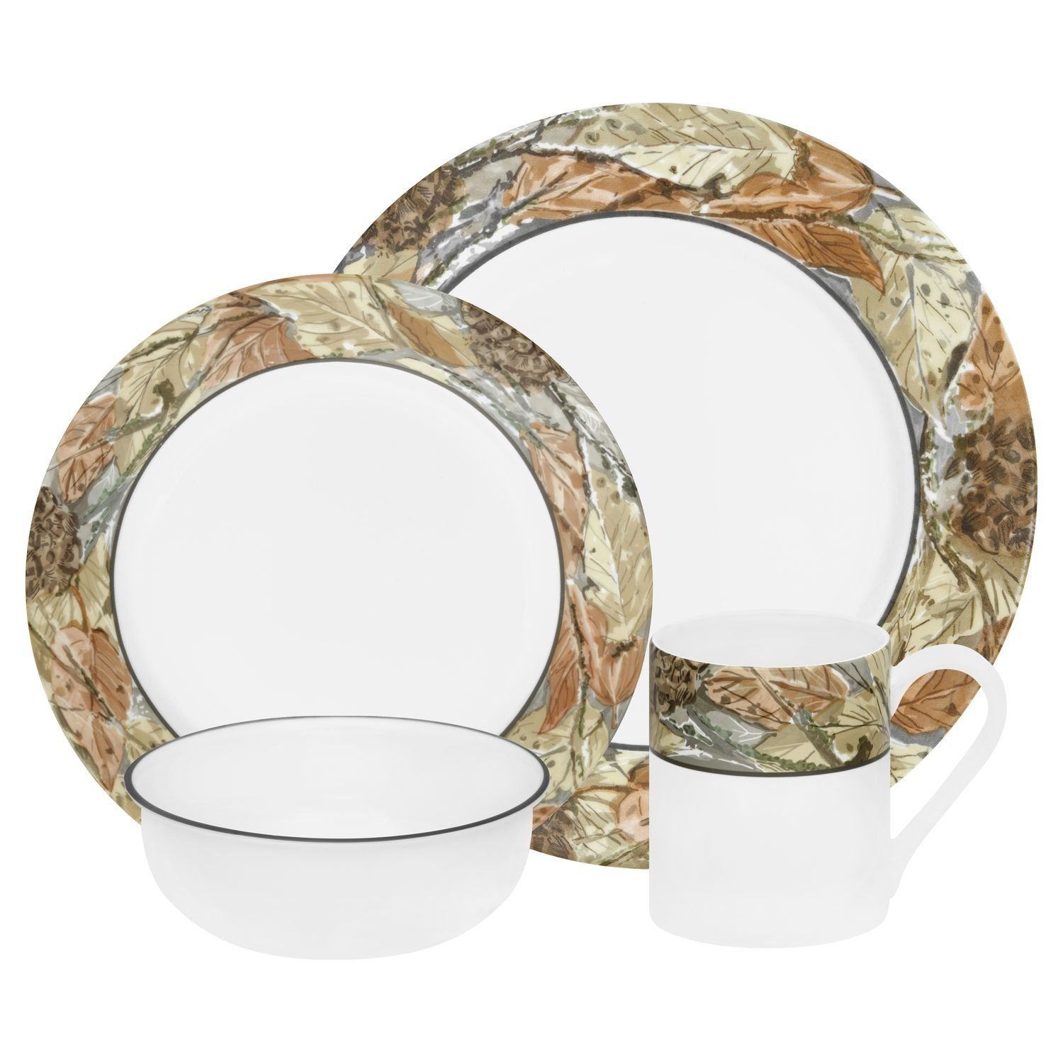 Corelle Impressions Dinnerware & Corelle Holiday Collection 16-pc Dinnerware Set Sc 1 St ...