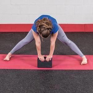 deadliftworkoutprogram  yoga block yoga deadlift