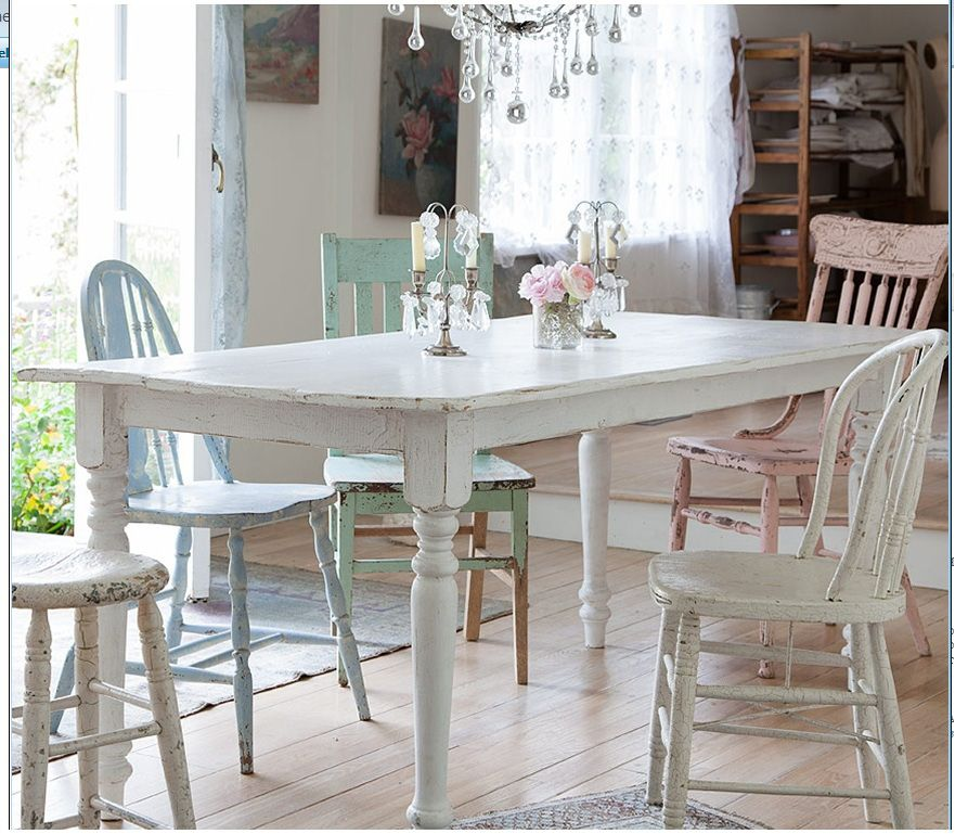 Shabby Chic Kitchen Table Centerpieces: Rachel Ashwell Shabby Chic Kitchen