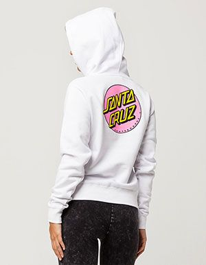 202c0dea4 SANTA CRUZ Other Dot Womens Hoodie White | sweatshirts!! in 2019 ...