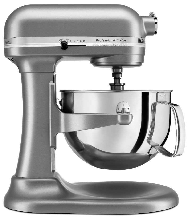 shop stand mixers the kitchenaid pro 5 plus stand mixer silver rh pinterest com