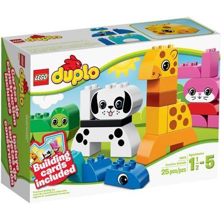 LEGO DUPLO Creative Play Creative Animals Building Set - Walmart.com ...