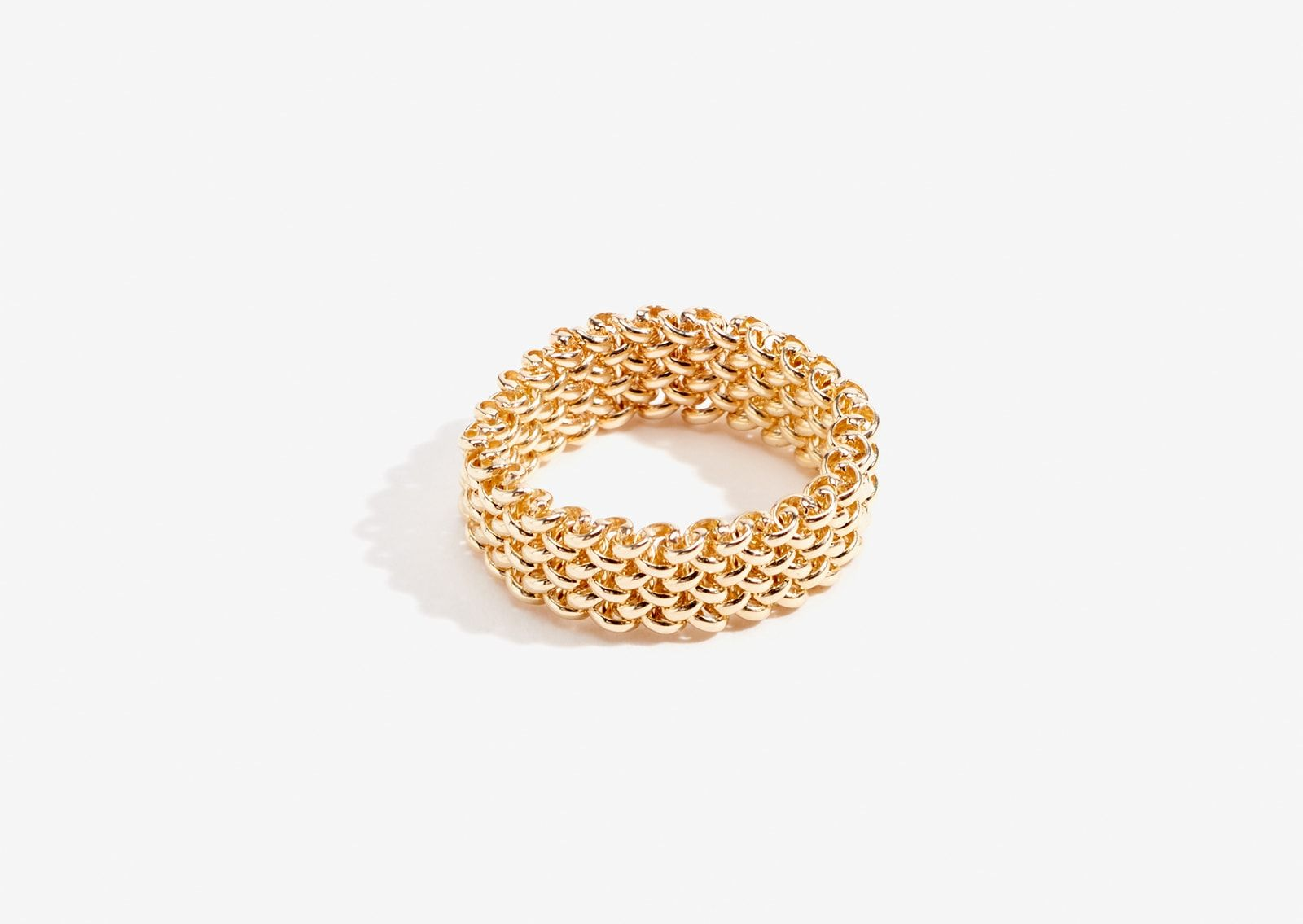 Medina ring thick yellow gold lucy folk jewellery u adornment