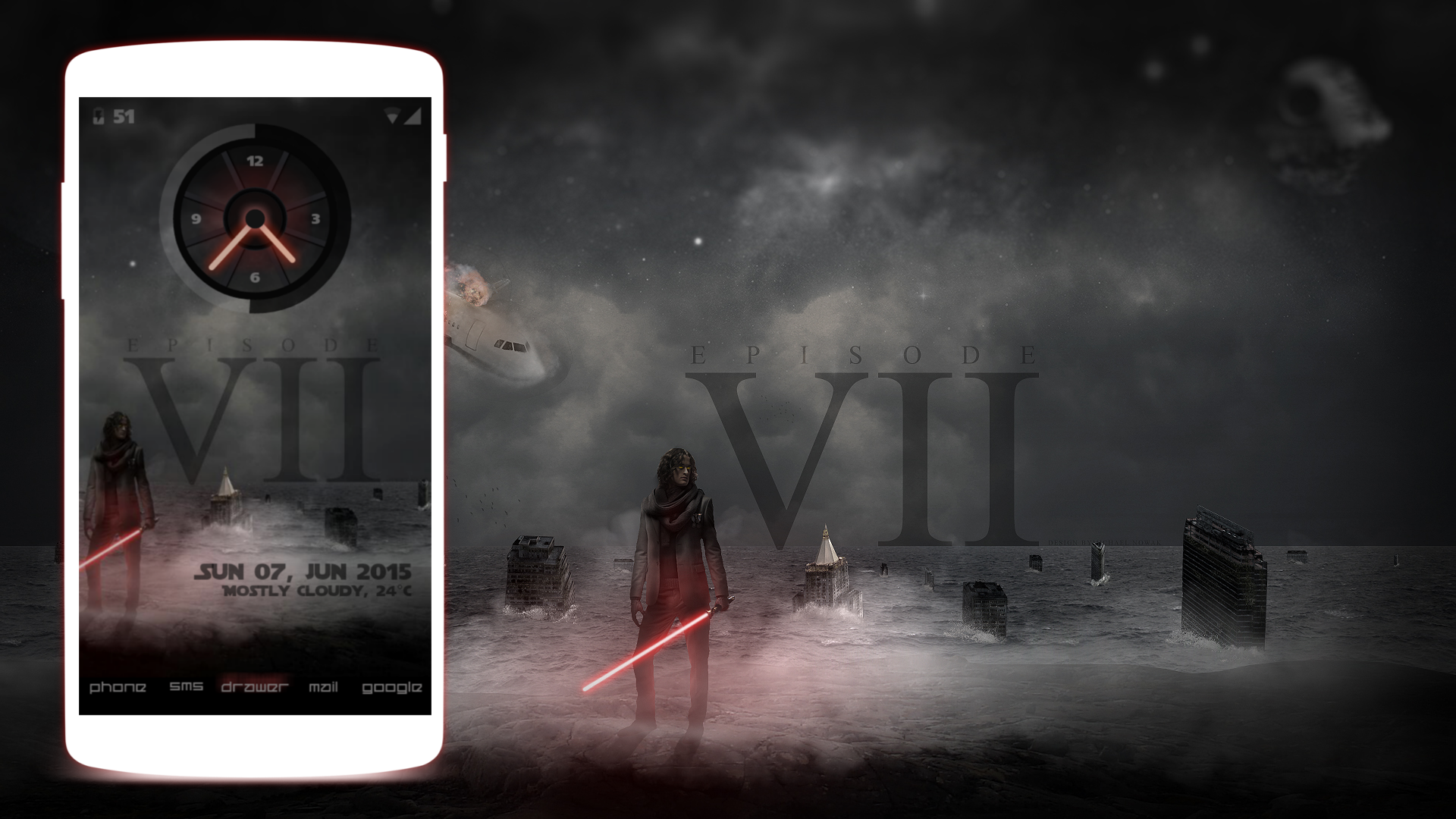 Google themes star wars - Star Wars