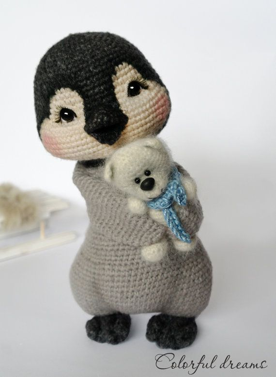 Crochet pattern Penguin girl Lina by HMColorfuldreams on Etsy ...