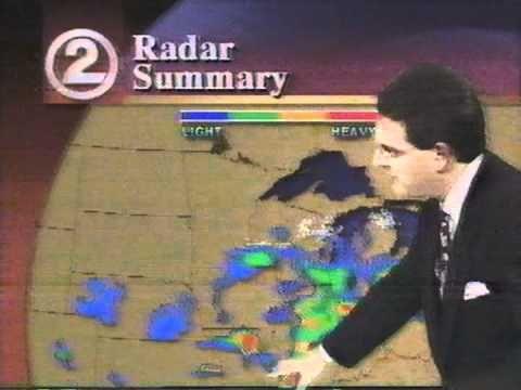 WBAY Weather - April 19, 1993 | Green Bay Television | Baseball
