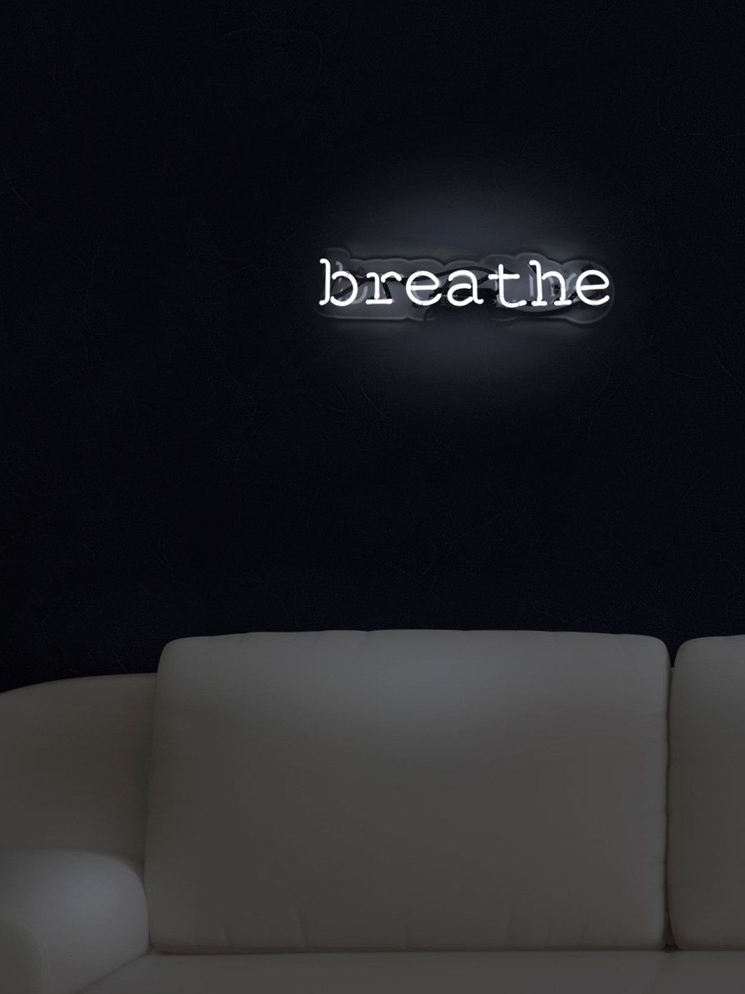 Breathe Neon Sign By Oliver Gal At Gilt