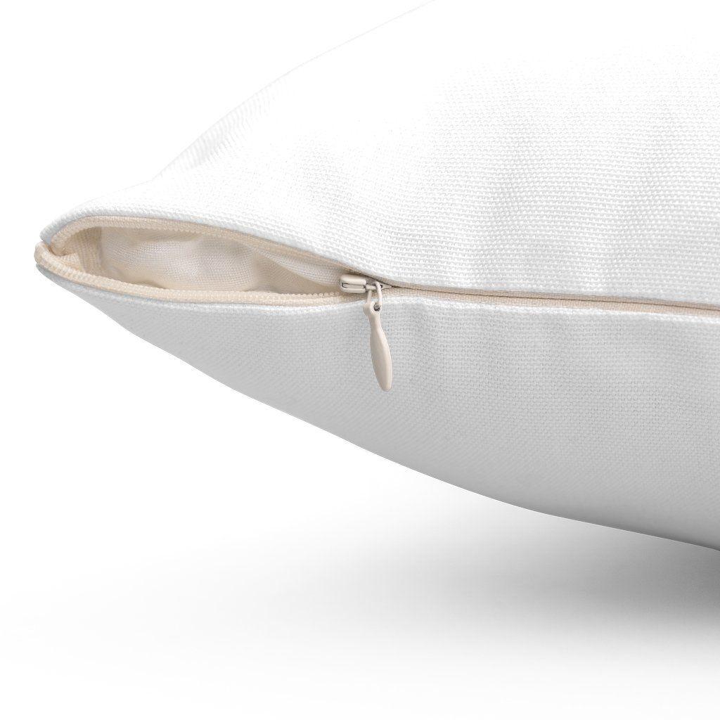 Greenwich Coordinates Spun Polyester Square Pillow - 14 × 14