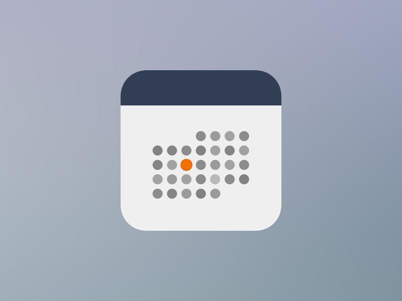 Calendar app icon App icon design, Calendar app, App icon