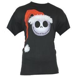 Jack Santa T-Shirt Mens skellington nightmare christmas