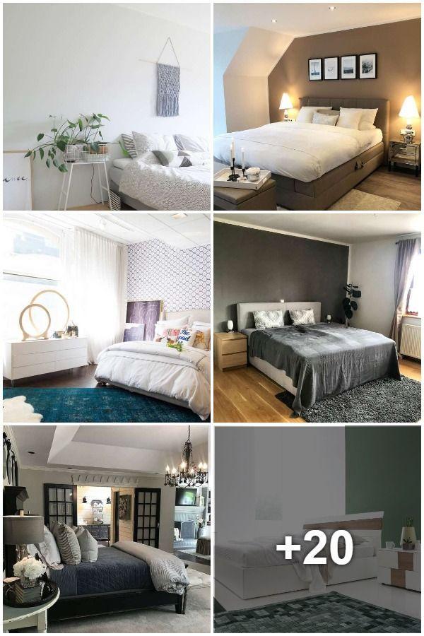 En Güzel 35 Yatak Odası Rengi | Schlafzimmerfarben, Zimmer ...
