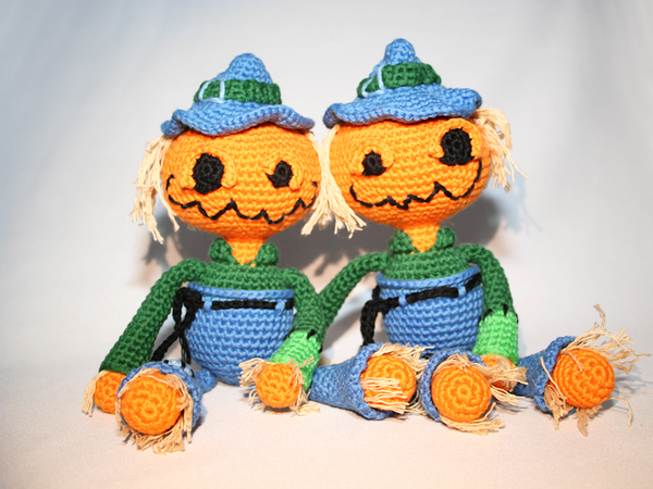 Halloween Amigurumi Crochet Pattern : Halloween kürbis vogelscheuche häkeln halloween pinterest