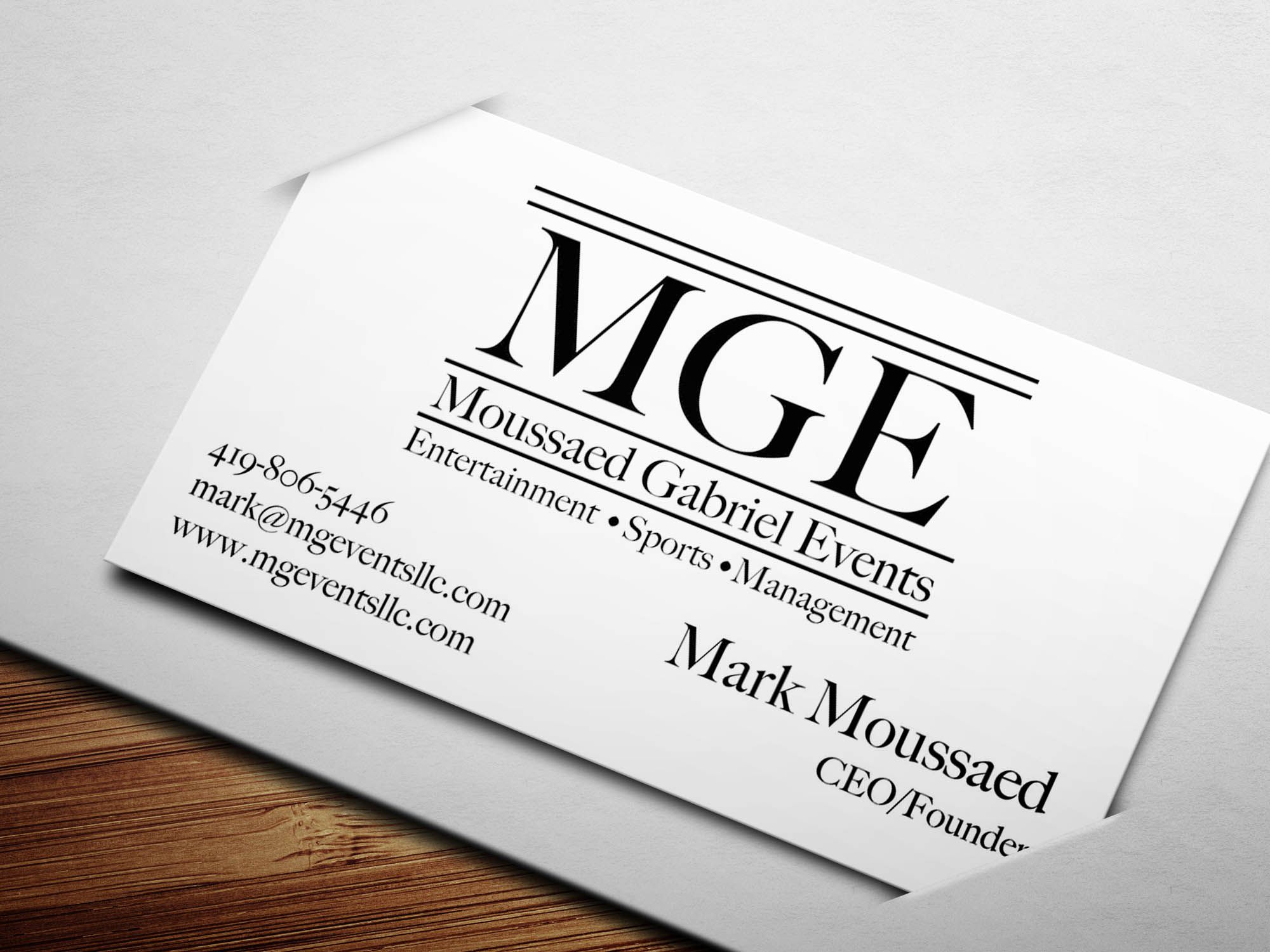 Business Card We Designed For A Concert Promoter Http Www Nerdydesigns Com Business Card Design Card Design Cards