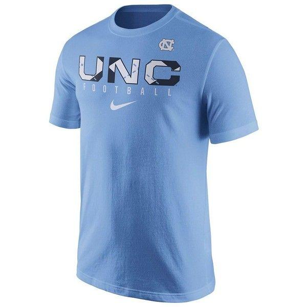 c3ef810b0ed42f Men s Nike North Carolina Tar Heels Practice Tee ( 26) ❤ liked on Polyvore  featuring